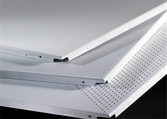 SGS Building Aluminium Acoustical Ceiling Tiles For Soundproofing