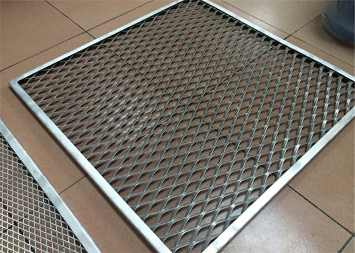 Security Advertising Signs 5mm Aluminum Mesh Panel