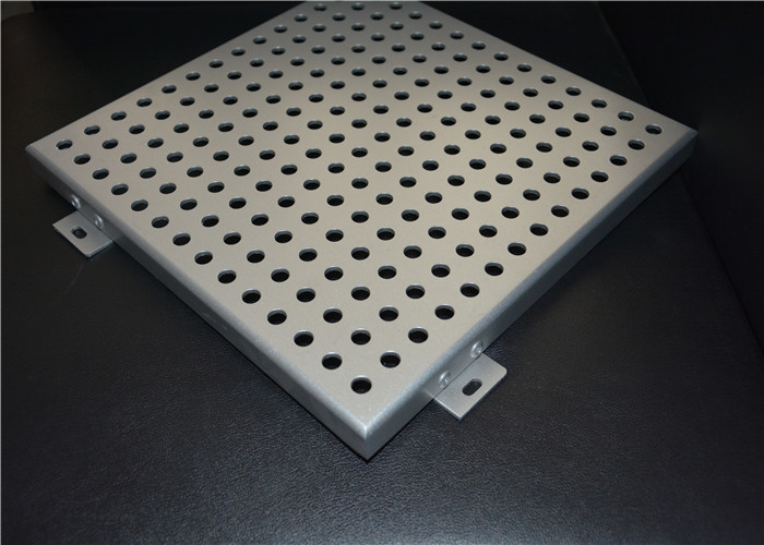 300x300mm Perforated Ceiling Panels Building Materials